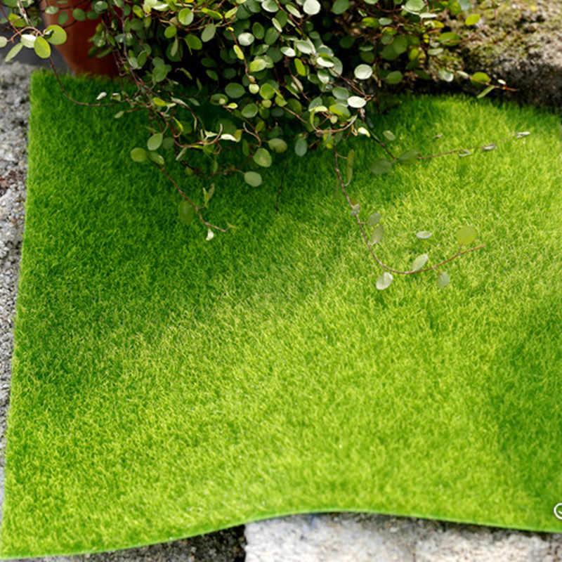 Floor Nep Pvc Gras Mat Kunstgras Tapijt Simulatie Moss Turf Gazon Diy Groene Plant Micro Landschap Yard Tuin Decor