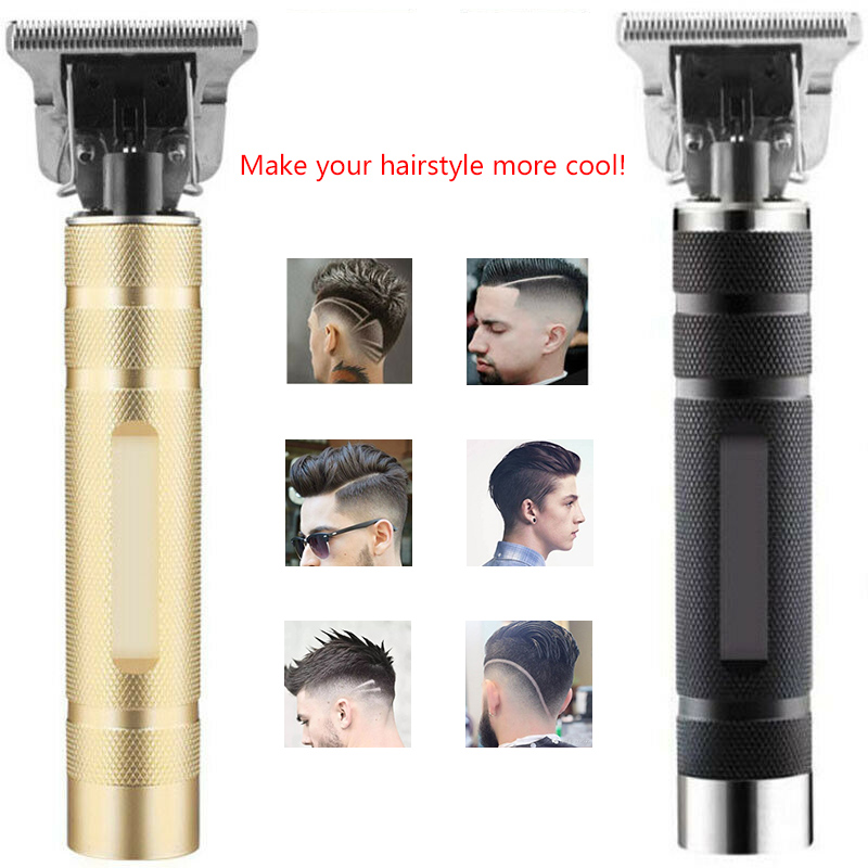 NEW Electric Pro Li T-Outliner Men Skeleton Cordless Trimmer Hair Clipper Machine Rechargeable Barbershop Cordless 0mm T-blade