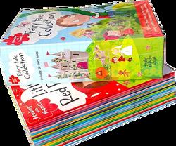 20 книг/набор, Phonics, Сказочная английская книга с рисунком, Красная Шапочка, раннее обучение, английские книги для чтения для детей