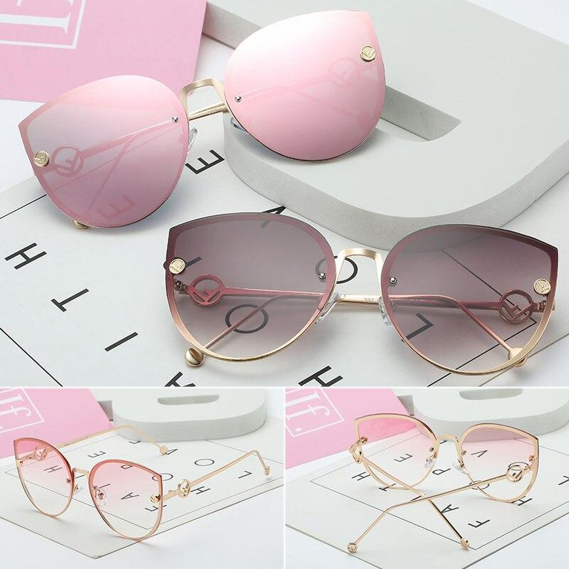 Cat Eye Sunglasses Driver Goggles Fashion Big Box Women Sunglasses Women's Ocean Glasses Sunglasses Sexy Women Fashion