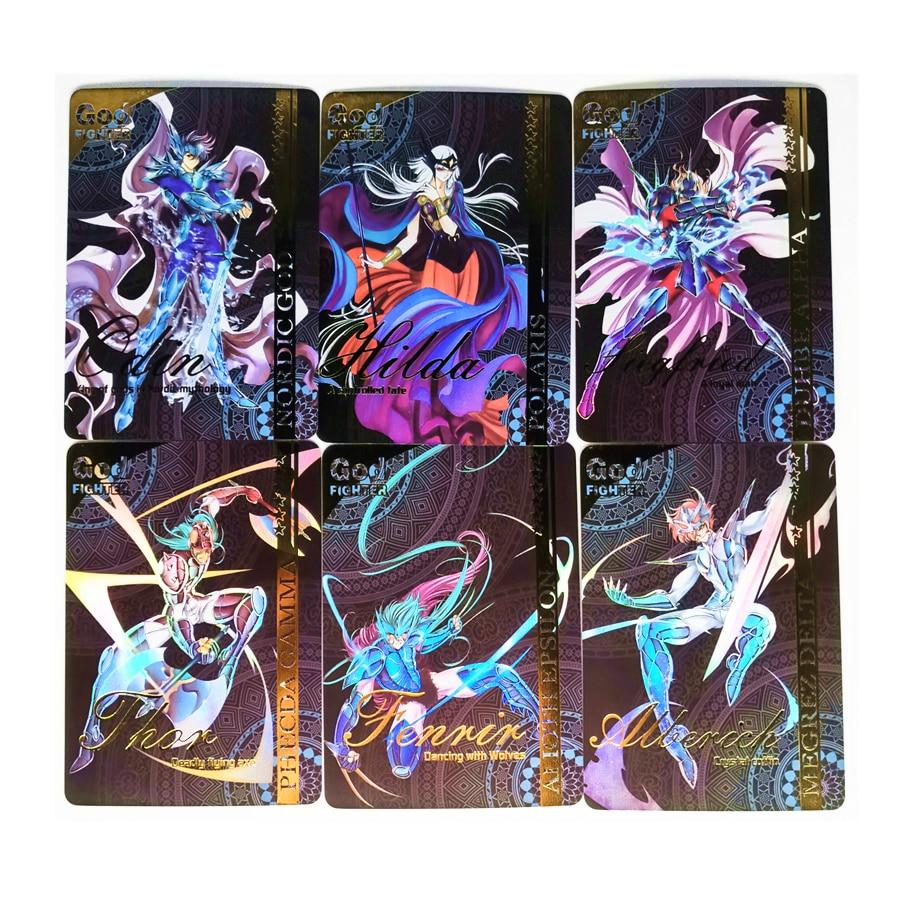 9pcs/set Saint Seiya Toys Hobbies Hobby Collectibles Game Collection Anime Cards