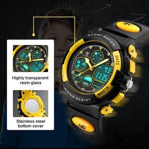 Image 3 - LAVAREDO çocuk spor saatler moda LED kuvars İşlevli dijital saat çocuklar için 50M su geçirmez kol saatleri A5
