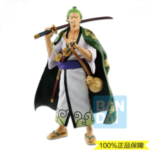цены In stock Bandai One Piece Figure Master Stylise Roronoa Zoro PVC action figure model toy
