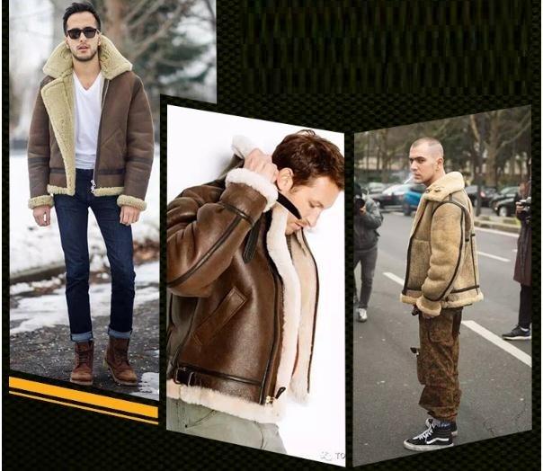Hb5fba37ce7e8477cb8b2d5b5d95dd3e3y Free shipping,Winter thick Genuine Sheepskin coat,B3 Wool Shearling,warm fur jacket,mens plus size genuine leather jackets.