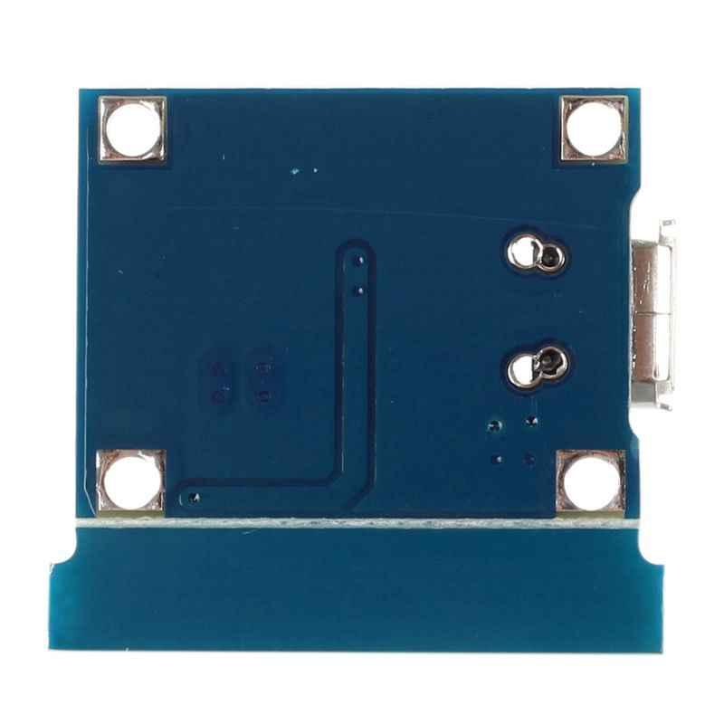 مايكرو-USB 1A ليثيوم أيون 18650 شاحن بطارية الليثيوم شحن TP4056 وحدة مجلس