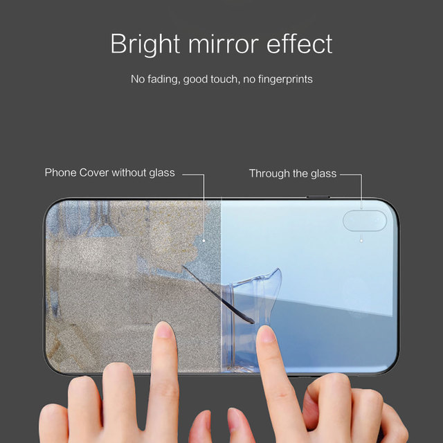 mleko ser Silicone Glass Phone Case For Xiaomi Redmi 9A 8A 7A Note 9 8 7 Pro Y3 9S 8T Balck Cover 3