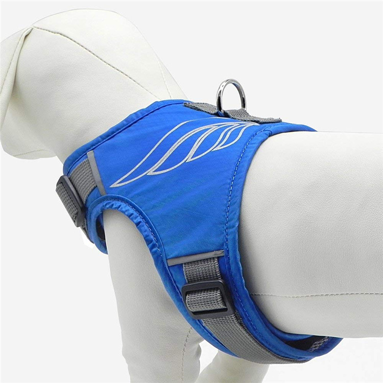 Pet Supplies New Style Summer Dog Chest And Back Vest Style Reflective Chest And Back Breathable In Large Dog Angel Chest And Ba