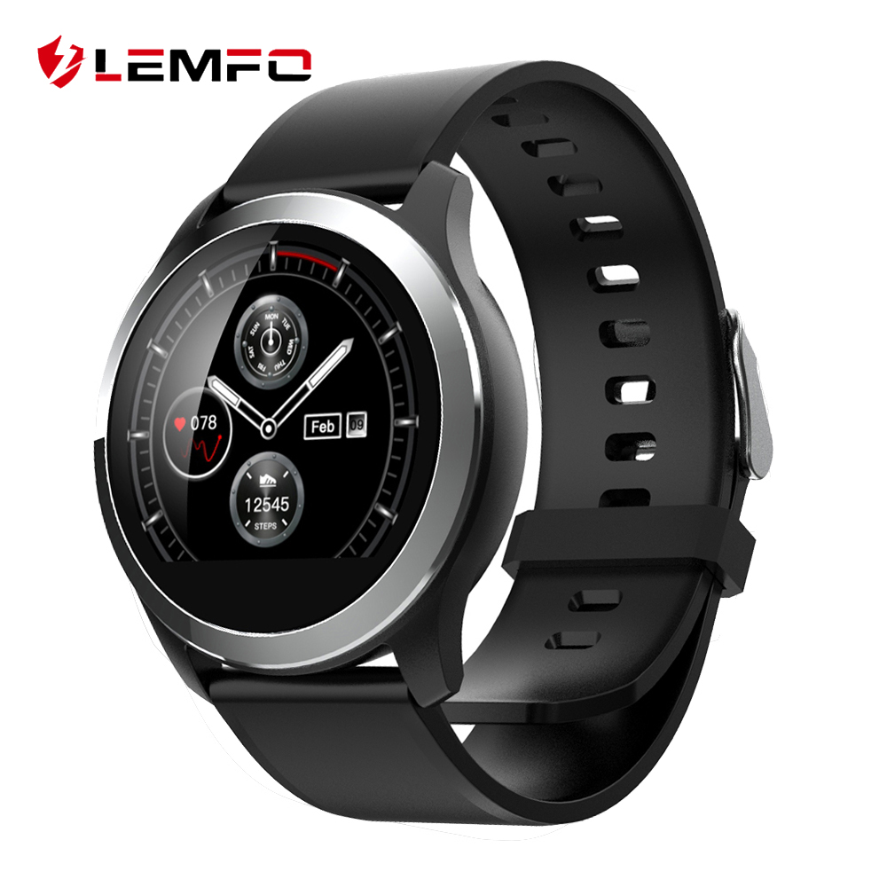 LEMFO 2019 Smart Watch Men PPG + ECG IP68 Waterproof Heart Rate Blood Pressure Sport Smartwatch For Android IOS Phone Aged-in Smart Watches from Consumer Electronics on AliExpress