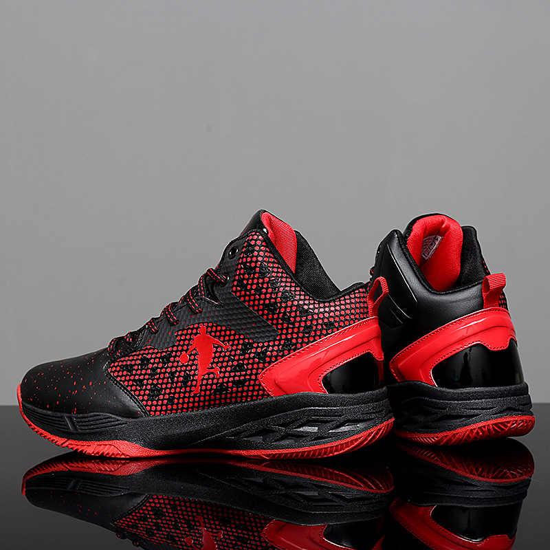 Mới Nam Giày Bóng Rổ Không Sốc Ngoài Trời Huấn Luyện Viên Sáng Jordan Sneakers Trẻ Trung Thanh Thiếu Niên Giày Cao Giỏ Giày Cặp Đôi Giày