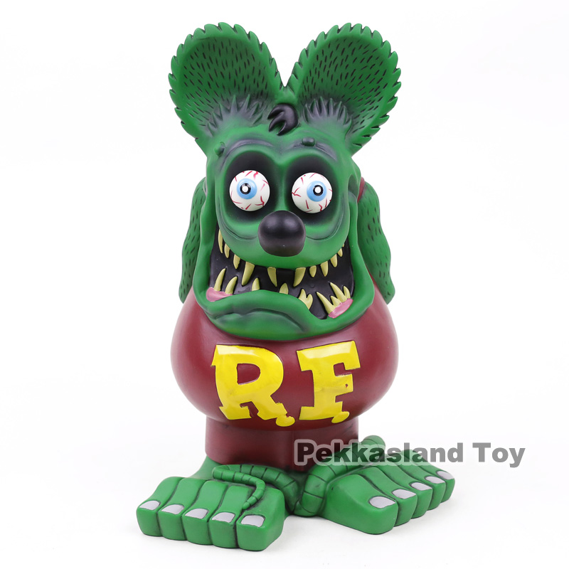 Rat Fink Big Daddy Big Statue 32cm PVC Figure Collectible Model Toy Doll Christmas Birthday Gift