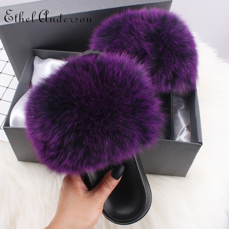 Frost Purple Fox Fur