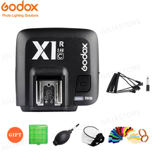 Godox X1R C / X1R N / X1R S TTL 2.4G kablosuz flaş alıcı için X1T C/N/S Xpro C/N/S tetik Canon / Nikon / Sony DSLR Speedlite