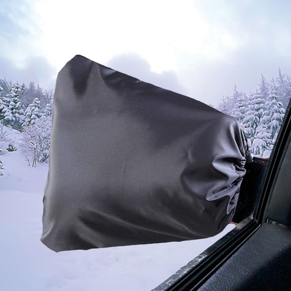 2Pcs Auto Car Rear View Side Mirror Frost Guard Snow Ice Winter-Waterproof Cover
