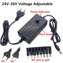 ปรับUniversal AC DC Power Supplyอะแดปเตอร์ควบคุม24V 25V 26V 27V 28V 29V 30V 31V 32V 33V 34V 36V Adaptador