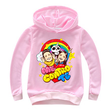 ME CONTRO TE Cute Dogs Kids Hoodies Spring and Autumn 3-16t Kids Girls Pullover Hoodies Sweatshirts kids designer clothes велосипед cannondale contro 3 2016