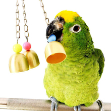 7 шт./компл. комбинированная игрушка попугай товары для птиц попугай Укус игрушка Попугай Птицы игрушки Смешные качели мяч колокольчик стоящий обучающие игрушки