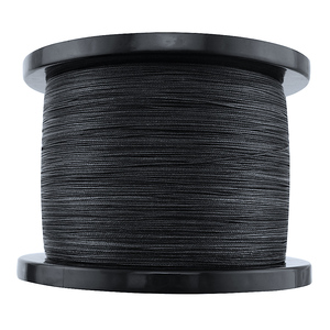 Image 4 - Braided fishing line 8 strands 8 300LBS never faded black long line 1500M 2000M pe braided wires thread fishing takle online