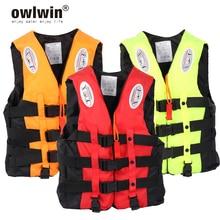 Boating Vest Pipe Survival-Suit Life-Jacket Skiing Swimming S-Xxxl Outdoor Adult Children