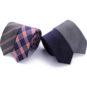 Men's Colourful Cotton Necktie Narrow 6 cm Skinny Woven Narrow Neckties Men's Classic Tie Gift Wedding Party fashion men s colourful tie luxury necktie solid color narrow 6 cm slim skinny woven narrow neckties men s tie gift