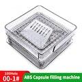 000 #100 отверстие ABS Руководство Капсула доска 00 # машина для наполнения порошка машина производитель медицина доска для наполнителя