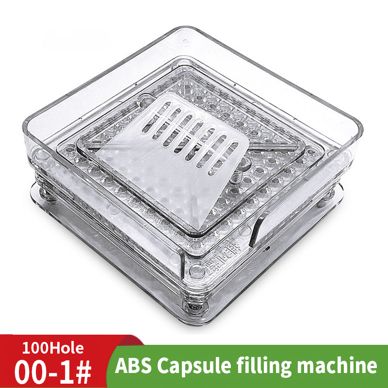000 # 100 Hole ABS Manual Capsule Board 00 # Filling Machine Powder Filling Machine Manufacturer Medicine Filling Board