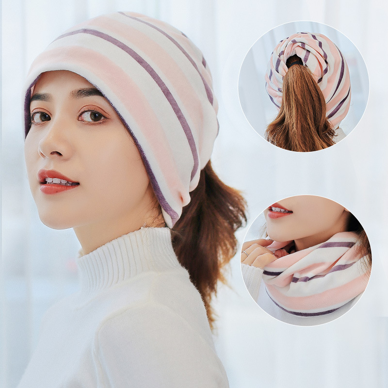 Confinement Cap Postpartum Headscarf Time Of Childbirth Autumn And Winter Pregnant Women Hair Band All Seasons Hat Windproof Cot