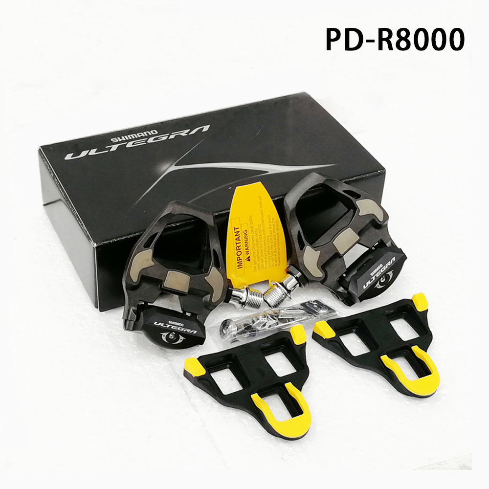 Pair 105 PD-R7000 Carbon SPD-SL Road Bike Bicycle Pedals Set with//SM-SH11 Black