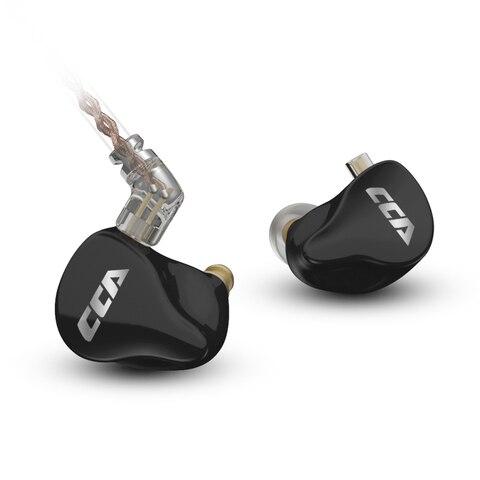 Fone de Ouvido de Alta Fidelidade com Cabo 1dd + 7ba Unidade Tecnologia Híbrida no Trocável Cca Ca16 16
