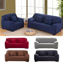 Pure color elasticity sofas covers universal couch covers for sofas  sectional couch covers  sofa covers for living room