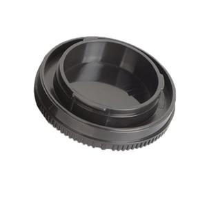 Image 5 - 50 짝/몫 카메라 바디 캡 + 소니 nex NEX 3 e 마운트 용 후면 렌즈 캡