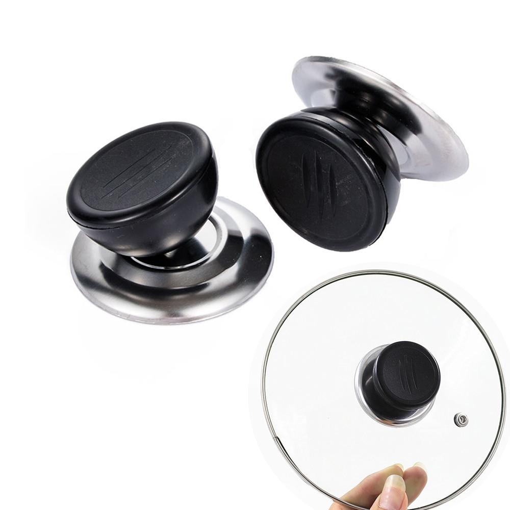Universal Replacement Kitchen Cookware Pot Pan Lid Hand Grip Knob Handle Cov LS