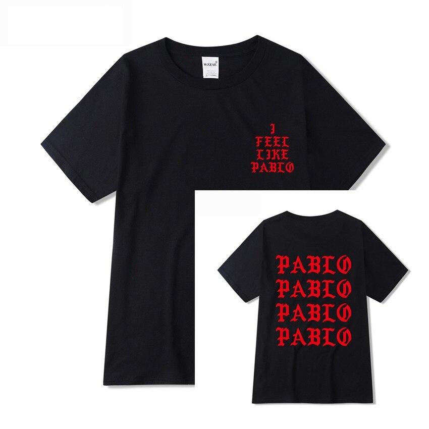 Jesus is King I Feel Like Pablo Streetwear T shirt  3