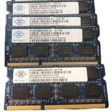 Ram do portátil nanya ddr3 rams 4gb 2rx8 1333mhz PC3-10600S 204pin la memoria del ordenador portátil 1 peças