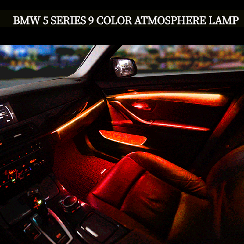 For BMW 5 Series F10/F11/F18 ambient lamp LED Modeling Car Ambient Light Neon Interior Light Car Jewelry car accessories image