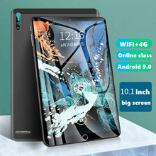 2021 mais recente tablet 10.1 Polegada 6gb + 128gb grande memória 4g chamando tablet wifi tela cheia android com 10-core 4g duplo cartão sim.