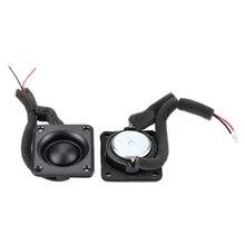 1 Inch Dome Tweeter Speaker 8OHM 15W Neodymium Silk Membrane ABS Square Treble Loudspeaker Audio DIY 40*45MM 2pcs