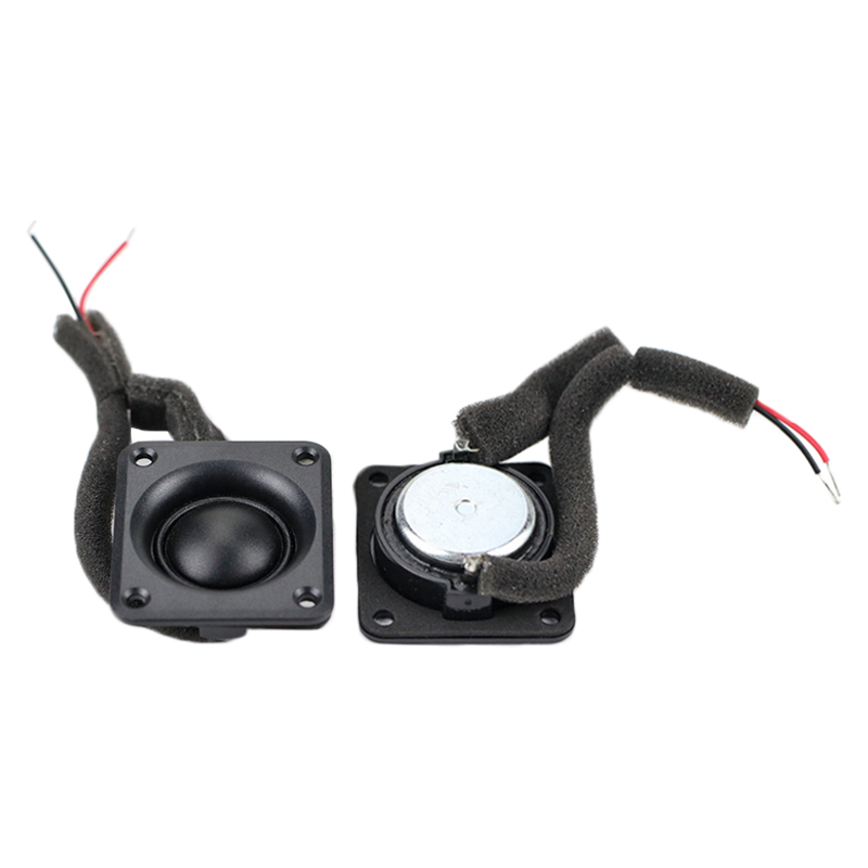 1 Inch Dome Tweeter <font><b>Speaker</b></font> <font><b>8OHM</b></font> <font><b>15W</b></font> Neodymium Silk Membrane ABS Square Treble Loudspeaker Audio DIY 40*45MM 2pcs image