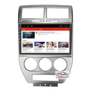 """10.1 """"Android car unit for Jeep Patriot FOR jeep compass MK Auto radio GPS Multimedia stereo with BT(China)"""