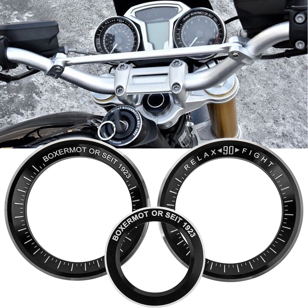 Motorcycle Techometer Speedometer Ignition Starter Lock Key Ring Cover For BMW R Nine T R9T 2014 2015 2016 R NINET Accessories