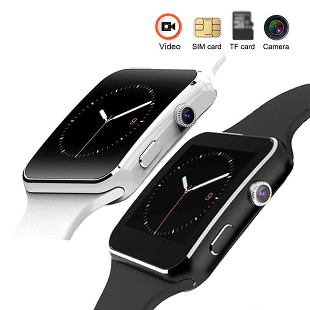 Smart-Watch Whatsapp Support Xiaomi Bluetooth with Camera Touch-Screen SIM Tf-Card X6