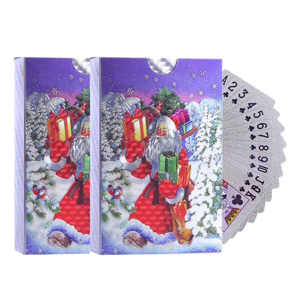 2-sets-playing-cards-with-christmas-pattern-santa-claus-waterproof-silver-foil-playing-cards-font-b-poker-b-font-cards-board-game-drop-ship