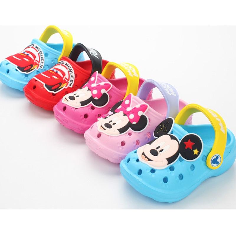 Boys Girls Shoes Hole Sandals 2019 New Children 1-3 Years Old Cute Non-slip Soft Bottom Sandals Kids Sandals