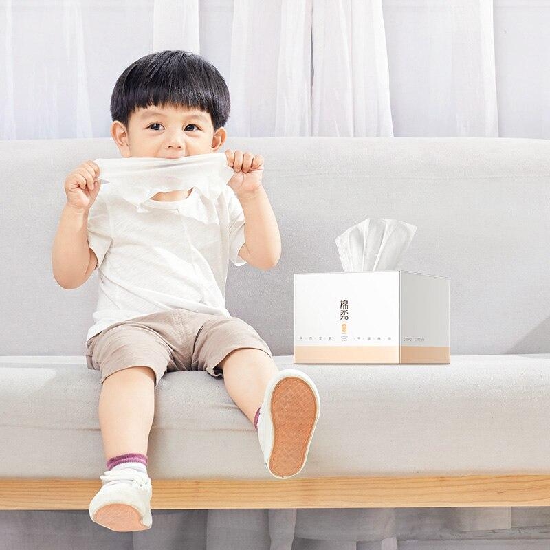 Matern'ella, 600 шт., двойное использование, сухие влажные салфетки, детские влажные салфетки, портативные салфетки для путешествий, уход за кожей, детские влажные салфетки для рук и рта