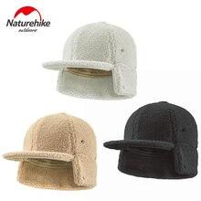 Зимняя шерстяная бейсболка naturehike зимняя шапка для холодной