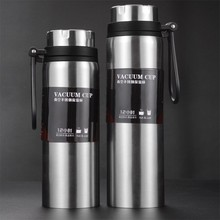 Get more info on the Sports bottle 800ML/1000ML large capacity double stainless steel portable mug outdoor travel portable leak-proof car space pot