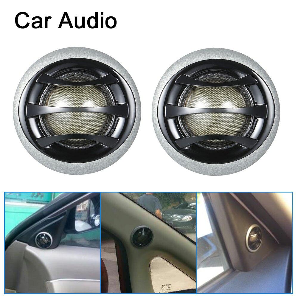 2 Inch 150W Micro Dome Car Tweeters with Built-in crossover Auto Car Speakers Car Speakers Car Audio Tweeters 1 Pair