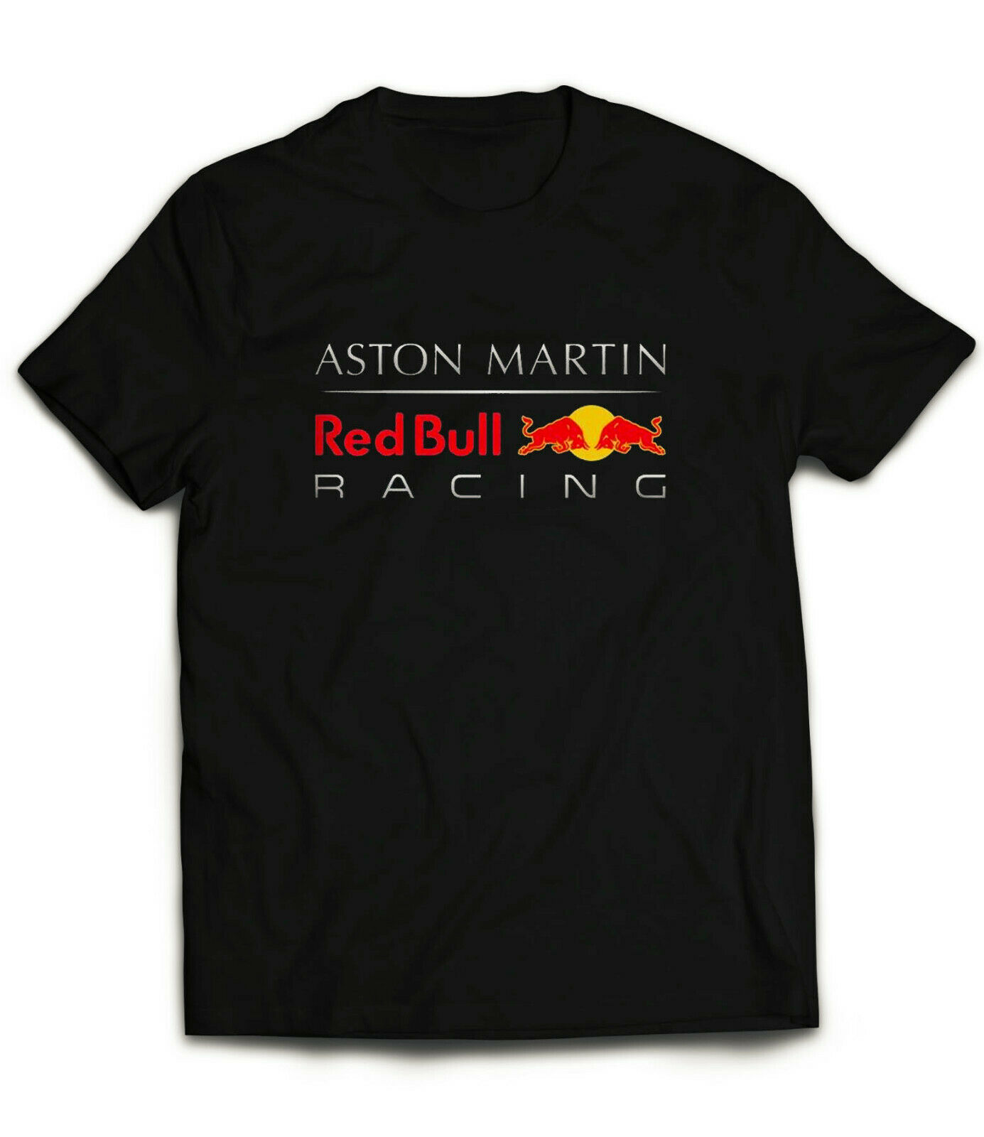 Aston Martin Racing Bull T-Shirt Inspired F1 Team Tee Streetwear Size S-3Xl