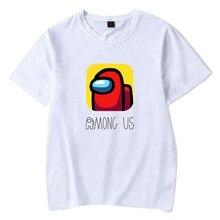 2021 ilkbahar ve yaz oyunu tema karikatür T-shirt 3d baskı erkek kız oyunu kısa kollu