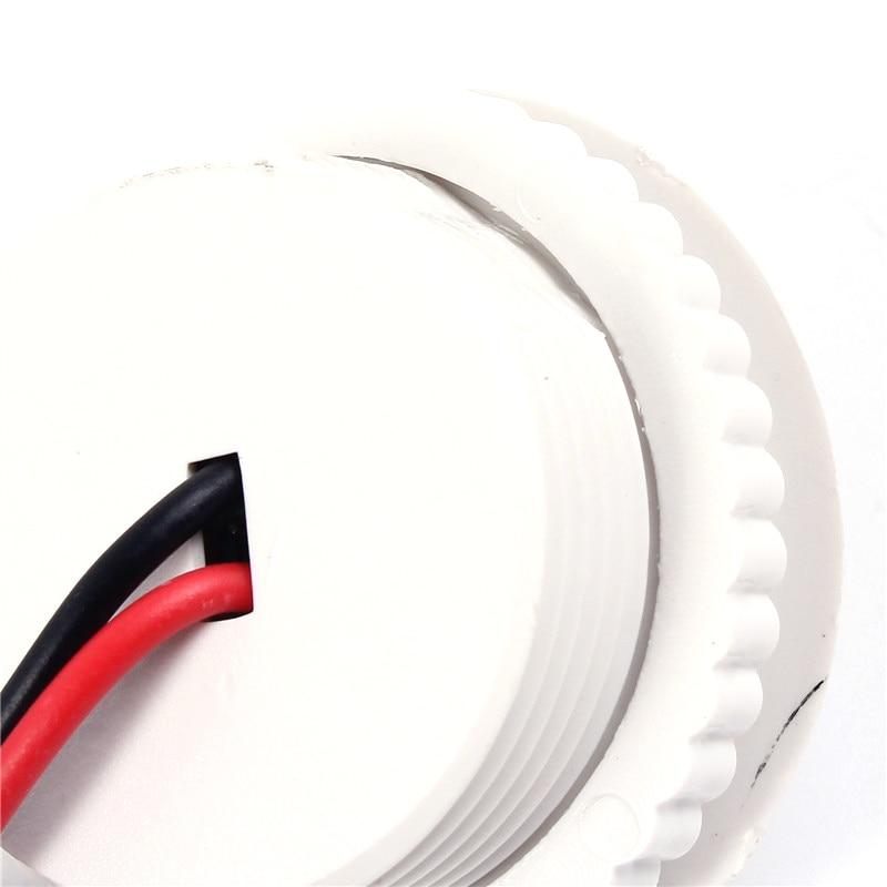 PIR IR Capteur De Lumière Infrarouge Lampe À Induction Humaine Interrupteur 220V 50HZ Contrôle Plafonnier Capteur De Mouvement Sur 3-6m de Détection