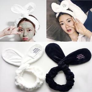 Hairbow Turban Hair-Accessories Bath-Mask Makeup Cosmetic Cross-Headband Wash-Face Soft